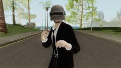 Skin Random 110 (Outfit PUBG) для GTA San Andreas
