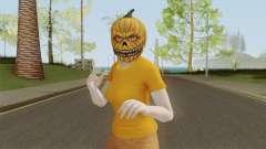 GTA ONLINE Halloween Skin Female для GTA San Andreas