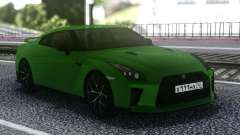 Nissan GT-R R35 Coupe Green для GTA San Andreas