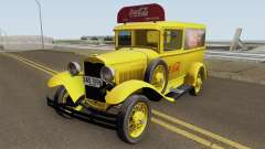 Ford Model A Delivery Van Coca Cola для GTA San Andreas