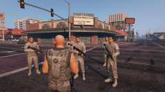Warfare MOD 1.0 для GTA 5