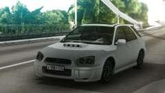 Subaru Impreza WRX Wagon White для GTA San Andreas