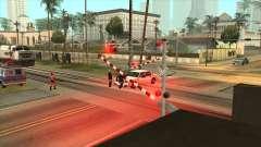 Недостающие шлагбаумы в Лос-Сантосе для GTA San Andreas