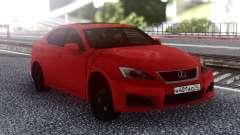 Lexus IS-F 2007 Red для GTA San Andreas