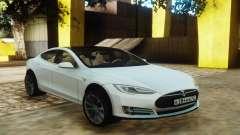 Tesla Model S White для GTA San Andreas