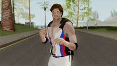AJ Style With Vest для GTA San Andreas
