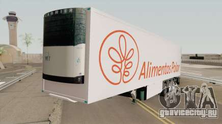 Remolque Alimentos Polar для GTA San Andreas