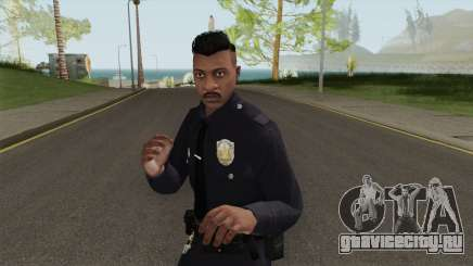 GTA Online Random Skin 14 LSMPD Male Officer для GTA San Andreas