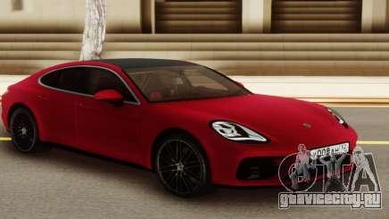 Porshe Panamera Red для GTA San Andreas