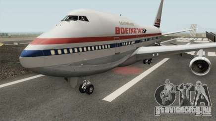 Boeing 747SP для GTA San Andreas
