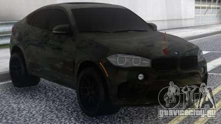 BMW X6 Camo для GTA San Andreas