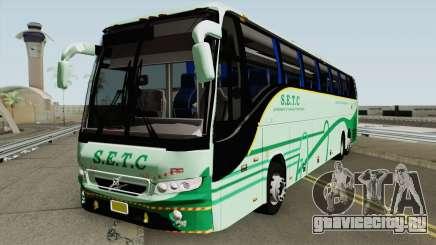SETC Multi Axle Volvo Ac Coach для GTA San Andreas