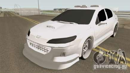 Peugeot 407 T4XI v1 для GTA San Andreas