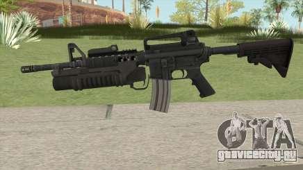 M4 With M203 для GTA San Andreas