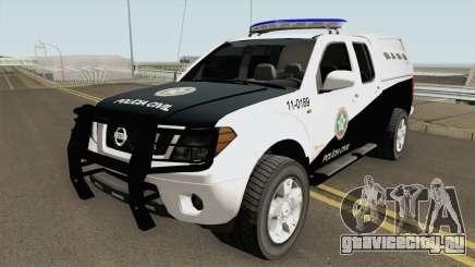 Nissan Frontier DPCA PCERJ 2013 для GTA San Andreas