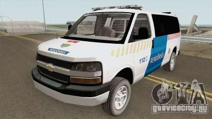 Chevrolet Express Hungarian Police Rendorseg для GTA San Andreas