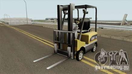 Forklift Empilhadeira TCGTABR для GTA San Andreas