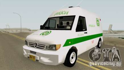 Mercedes Benz Sprinter Policia для GTA San Andreas