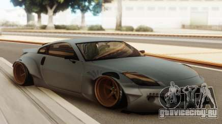 Nissan 350z Rocket Bunny Grey для GTA San Andreas