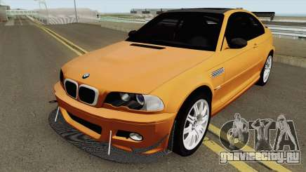 BMW M3 E46 (Fully Tunable and Paintjobs) 2004 v1 для GTA San Andreas