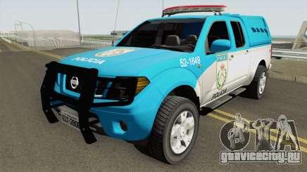 Nissan Frontier PMERJ 2013 для GTA San Andreas