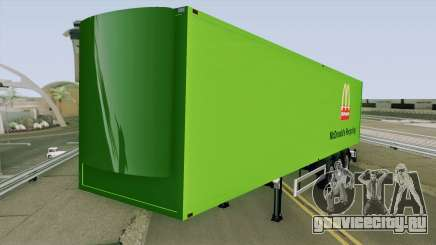 McDonald Recycling Trailer для GTA San Andreas