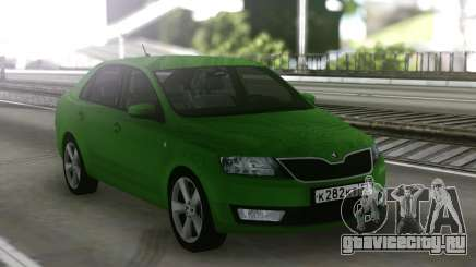 Skoda Rapid Green для GTA San Andreas