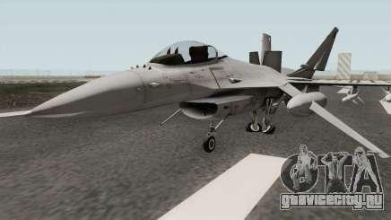 Lockheed Martin F-16L Overwatch Falcon для GTA San Andreas