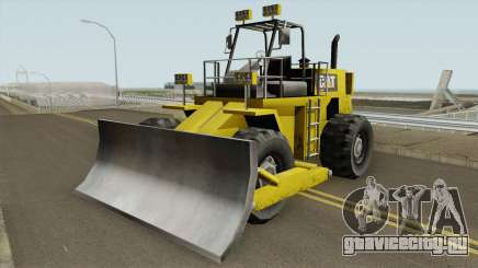 Dozer Retroescavadeira Cat TCGTABR для GTA San Andreas