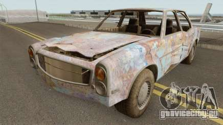 Rusty Benefactor Glendale для GTA San Andreas