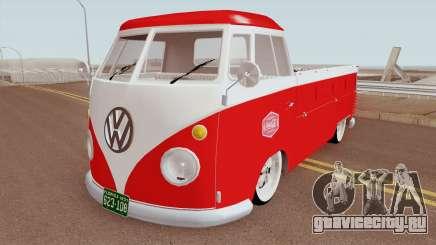 Volkswagen Type 2 (T2) Pickup - Coca Cola 1958 для GTA San Andreas