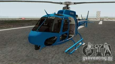 Helicoptero Fenix 02 do GAM PMERJ для GTA San Andreas