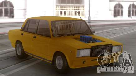 ВАЗ 2107 с мотором V8 для GTA San Andreas