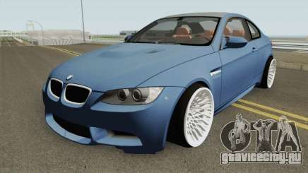 BMW M3 E92 HQ для GTA San Andreas