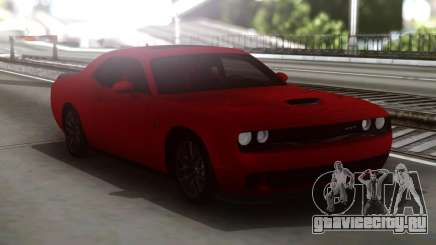Dodge Challenger SRT Red для GTA San Andreas