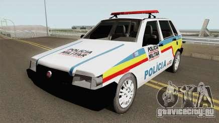 Fiat Uno Mille Multifuncional PMMG для GTA San Andreas