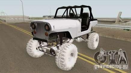 Jeep Renegade CJ7 для GTA San Andreas