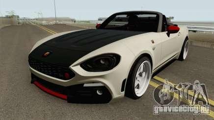 Fiat 124 Spider Abarth V2 для GTA San Andreas