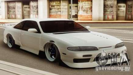 Nissan Silvia S14 Zenki White для GTA San Andreas