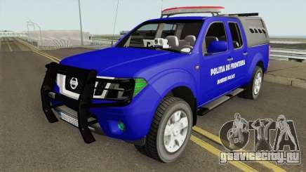 Nissan Frontier - Politia De Frontiera 2014 для GTA San Andreas