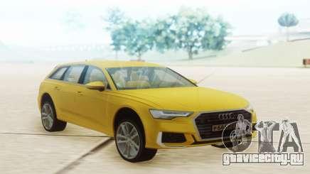 Audi A6 2019 Yellow для GTA San Andreas