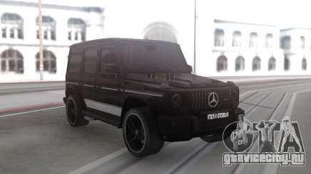 Mercedes-Benz G63 Black Offroad для GTA San Andreas