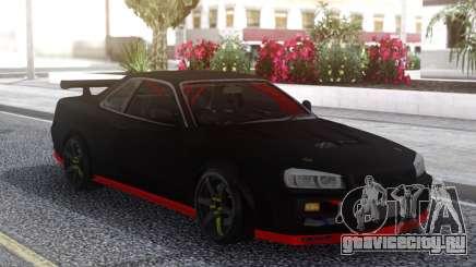 Nissan Skyline R34 Drift Sport для GTA San Andreas