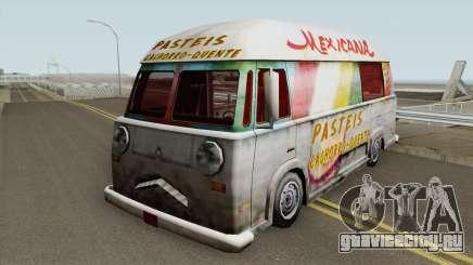 Hotdog Van Lanche Mexicana для GTA San Andreas