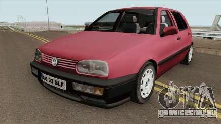 Volkswagen Golf 3 1994 Arges Number Plate для GTA San Andreas