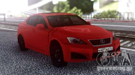 Lexus IS-F 2007 Red для GTA San Andreas