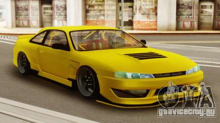 Nissan Silvia S14 Kouki Yellow для GTA San Andreas