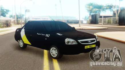 Лада Приора Такси Яндекс для GTA San Andreas