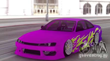 Nissan 200SX S14 Gradient Factory New для GTA San Andreas