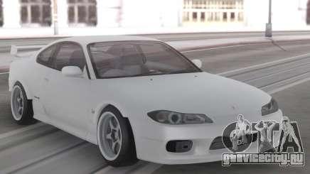 Nissan Silvia S15 White Stock для GTA San Andreas